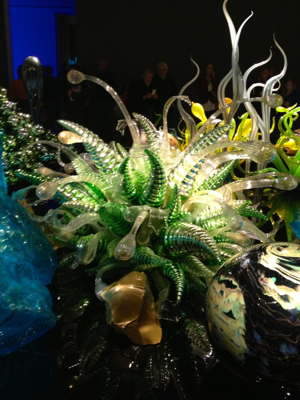 Chihuly water garden