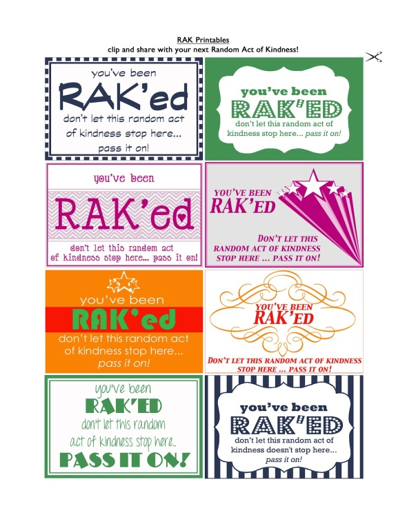 More RAK'ed printables from Make Them Wonder